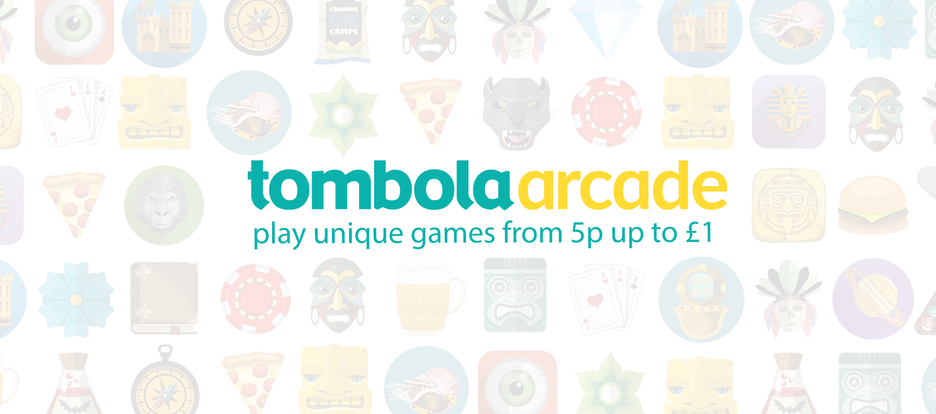 Tombola Arcade Play Unique Instant Win Games From 5p
